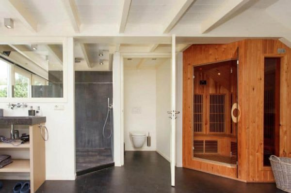 Guesthouse de heide - Nederland - Noord-Brabant - 8 personen - badkamer en sauna