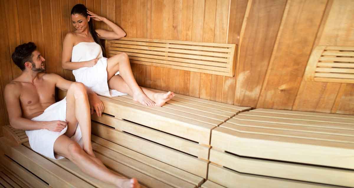 vakantiehuis met openhaard en sauna