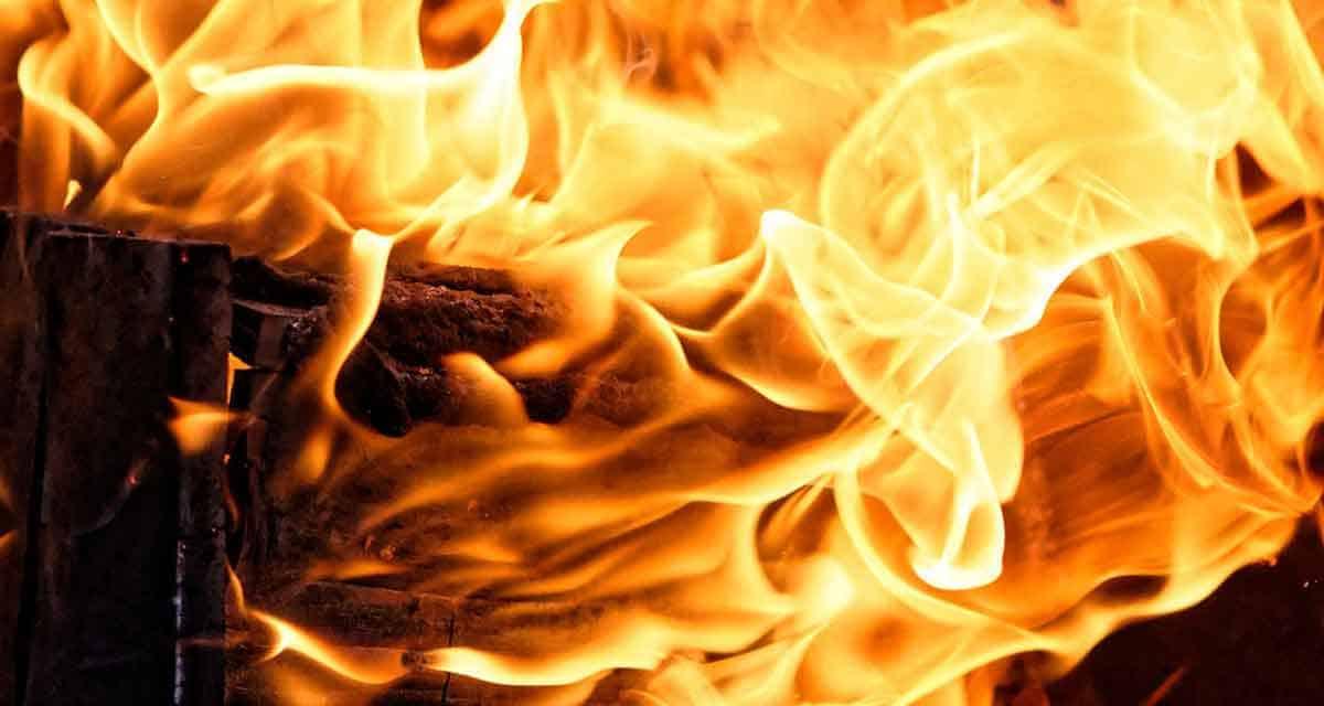 vlammenspel van openhaard